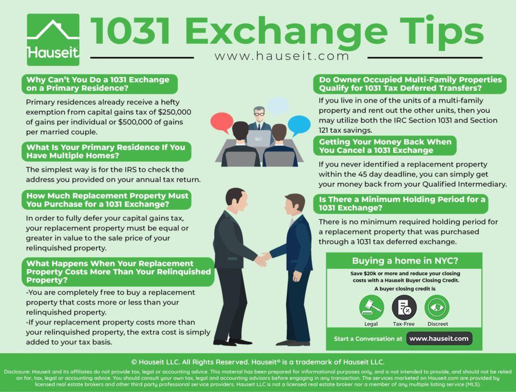 1031 Exchange Nyc Rules