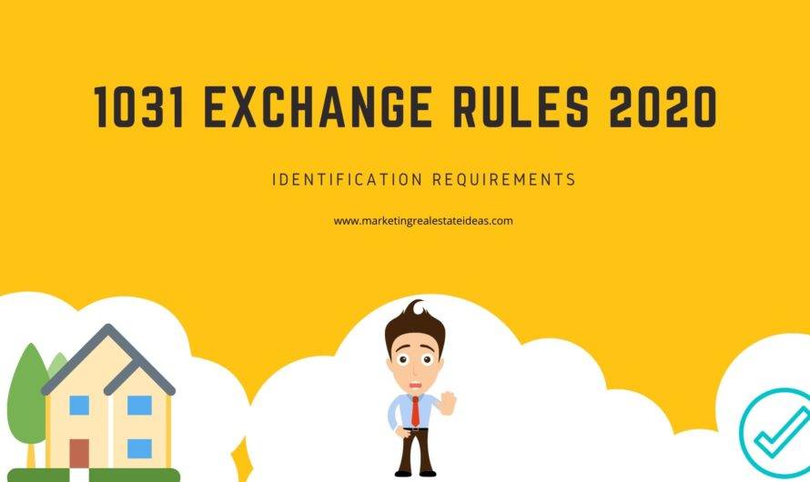 1031 Exchange Rules 2021 Primary Residence