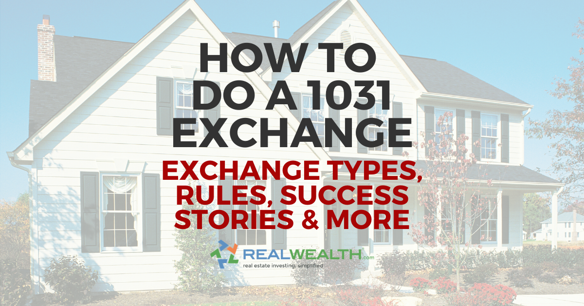 1031 Exchange Rules 2021 Printable Free