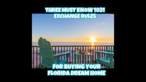 1031 Exchange Rules Vacation Home