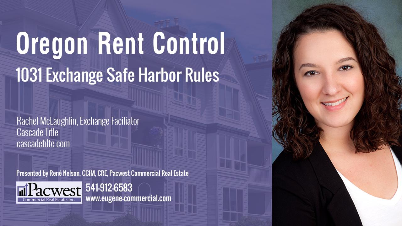 1031 Exchange Safe Harbor Rules