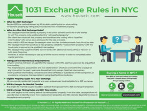 New York State 1031 Exchange Rules